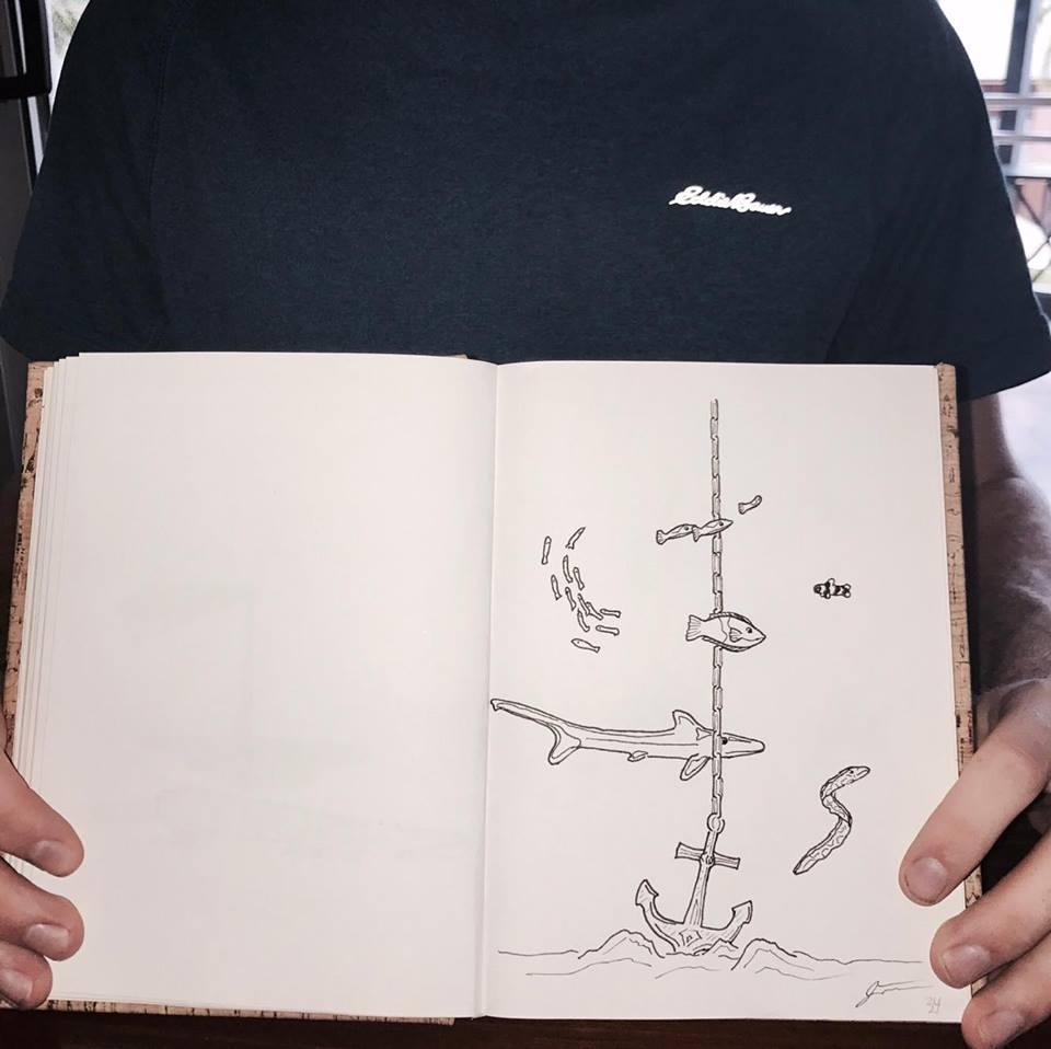 fish-drawing